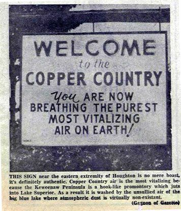 Photo from Mining Gazette