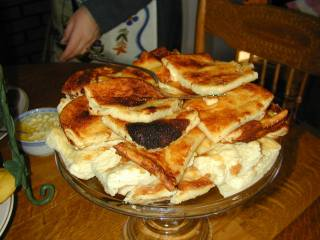 pannukakkua oven pancake also called kropsua a popular finnish snack in the copper country